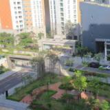 漢江邊、近地鐵、陽光充足、環境優雅、全新花園小區房一號房